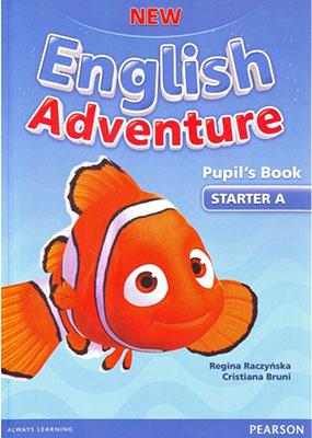 New English Adventure Starter A به همراه سي دي