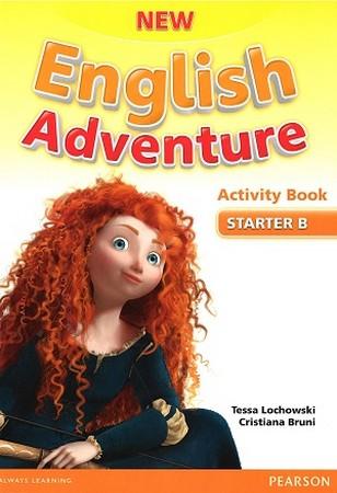 New English Adventure Starter B  Work Book