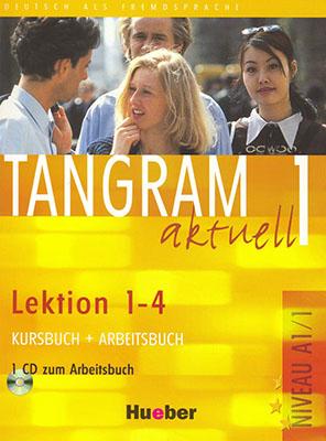 همراه با سي ديtangram 1 aktuell lektion1-4 a1/1