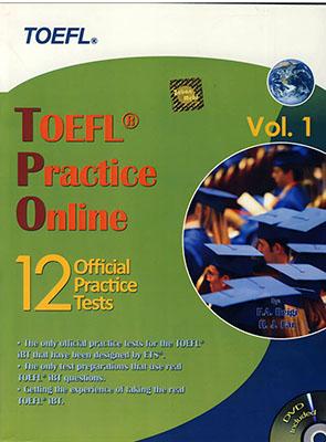 TOEFL practice online: 12 official practice tests