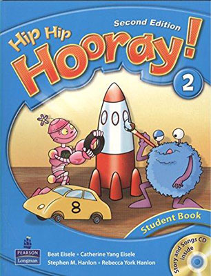 Hip hip hooray! 2 student book ويرايش دوم همراه با سي دي
