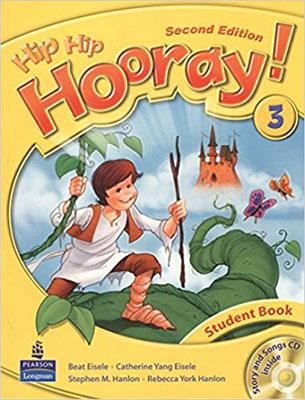 Hip hip hooray! 3 student book ويرايش دوم همراه با سي دي