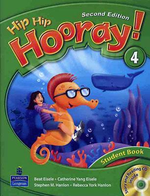 Hip hip hooray! 4 student book ويرايش دوم همراه با سي دي