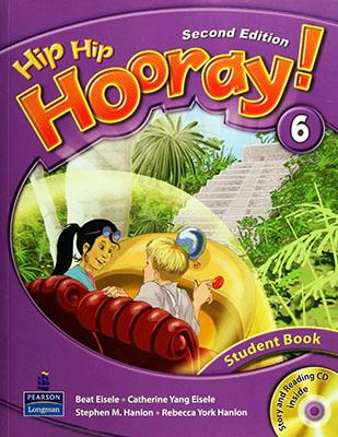 Hip hip hooray! 6 student book ويرايش دوم همراه با سي دي