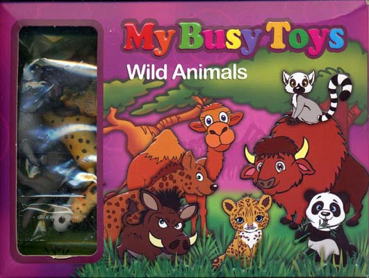 بسته-12تايي-حيوانات-وحشي-(1-صورتي)-(My-Busy-Toys)