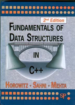 Fundamental Of Data structure in C++ (horowitz)i edition2 صفار افست
