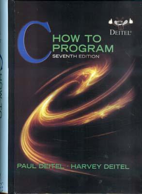 C how to program (deitel) edition 7 صفار افست