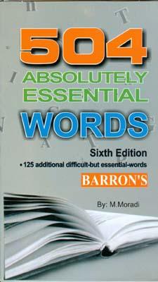 فلش كارت 504 واژه كاملا ضروري barron`s (مرادي) آواي معاصر