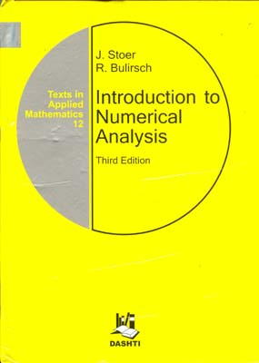 introduction to numerical analysis (store)I دشتي