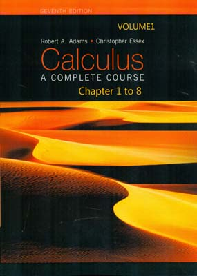 calculus 1 chapter 1 to 8 (Aadams) edition 7 كوشا