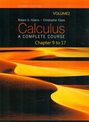 calculus 2 chapter 9 to 17 (Aadams) edition 7 كوشا