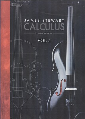 Calculus vol 1 (stewart) edition 8 صفار افست