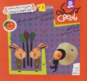 كتاب هاي نارنجي،هفته ي28 (گوشواره اي براي موش خوشگله و 6 قصه ي ديگر)،(گلاسه،شميز،خشتي كوچك،قدياني)