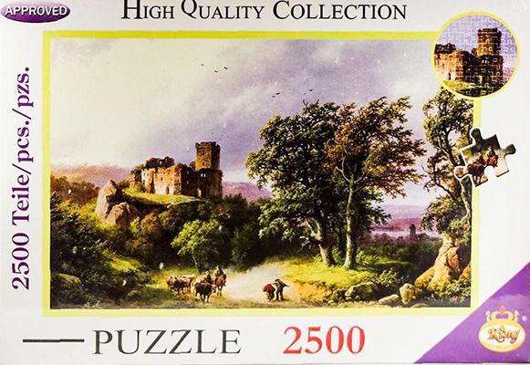پازل 2500 قطعه (2947) كينگ