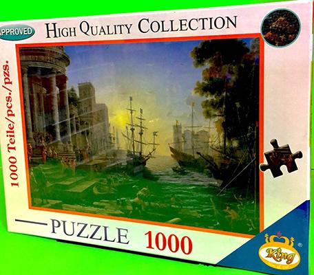 پازل 1000 قطعه (2984) كينگ