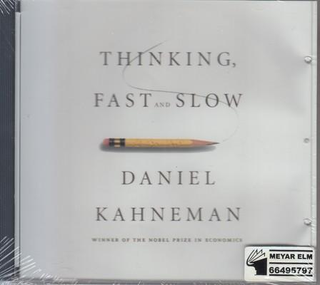تصویر کتاب صوتی thinking fast and slow(تفکر سریع و کند)