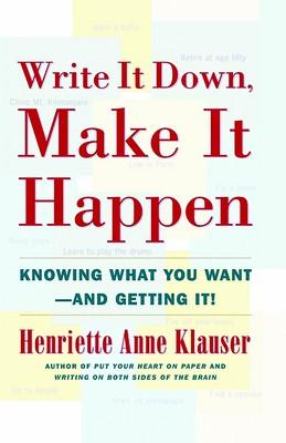 تصویر write it down make it happen (بنویس تا اتفاق بیفتد) (انگلیسی)