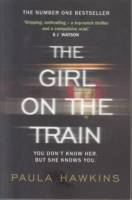تصویر The girl on the train (دختری در قطار) (انگلیسی)