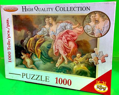 پازل 1000 قطعه (2889) كينگ