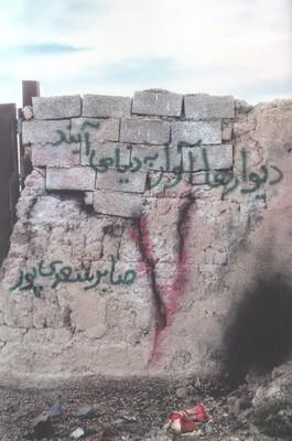 تصویر دیوارها آوار به دنیا می آیند