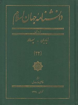 تصویر دانشنامه جهان اسلام جلد 22
