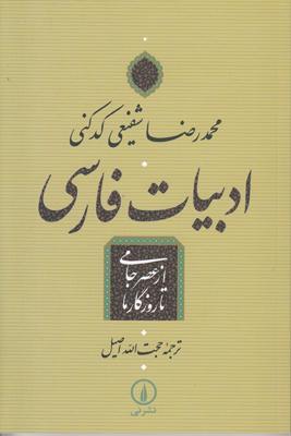 تصویر ادبیات فارسی از عصر جامی تا روزگار ما