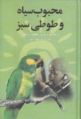 تصویر محبوب سیاه و طوطی سبز