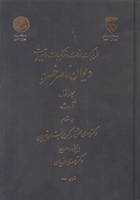 تصویر فرهنگ لغات و ترکیبات وتعبیرات ناصرخسرو2 جلدی