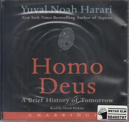 تصویر Homo Deus (انسان خداگونه) (انگلیسی)