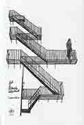 فرار از پله هاي اضطراري