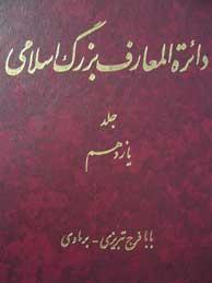 تصویر دايرةالمعارف بزرگ اسلامي ـ جلد 11(بابافرج تبريزي ـ برماوي)