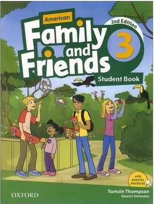تصویر American Family and Friends 3 2nd SB + WB + CD