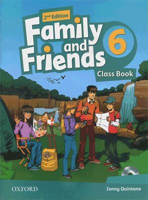 تصویر British Family and Friends 6 2nd SB + WB + CD