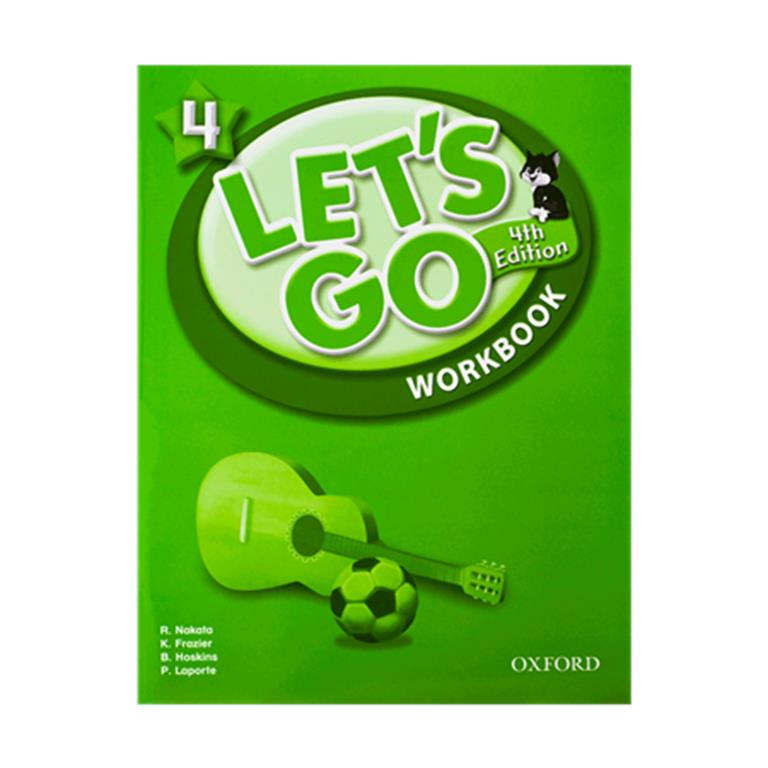 تصویر Lets Go 4 4th SB + WB + CD