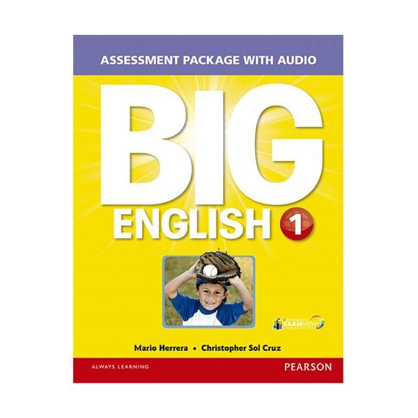 تصویر Assessment Package Big English 1 + CD