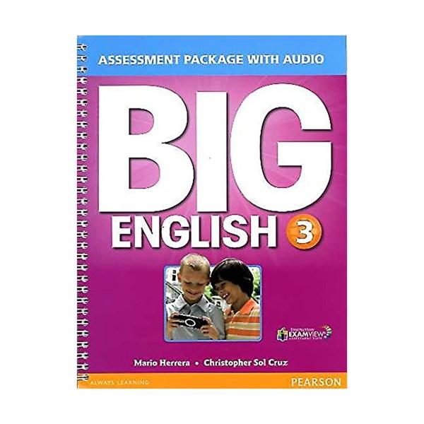 تصویر Assessment Package Big English 3 + CD