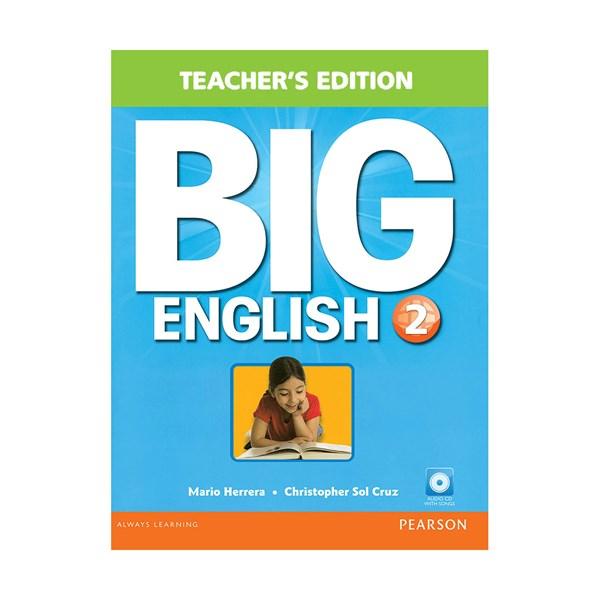 تصویر Teachers Book Big English 2 + CD