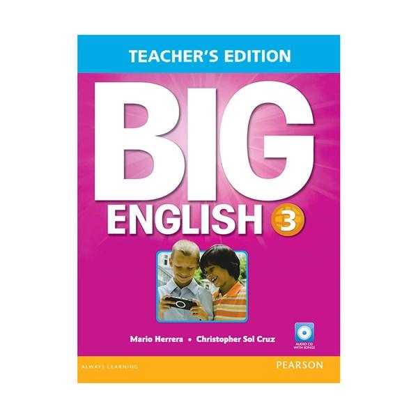 تصویر Teachers Book Big English 3 + CD