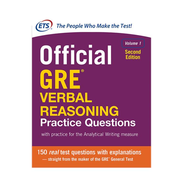 تصویر Official GRE Verbal Reasoning Practice Questions 2nd Volume 1