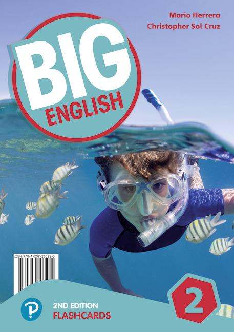 تصویر Flashcards Big English 2 2nd