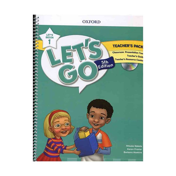 تصویر Teachers Pack Lets Go Begin 1 5th + DVD