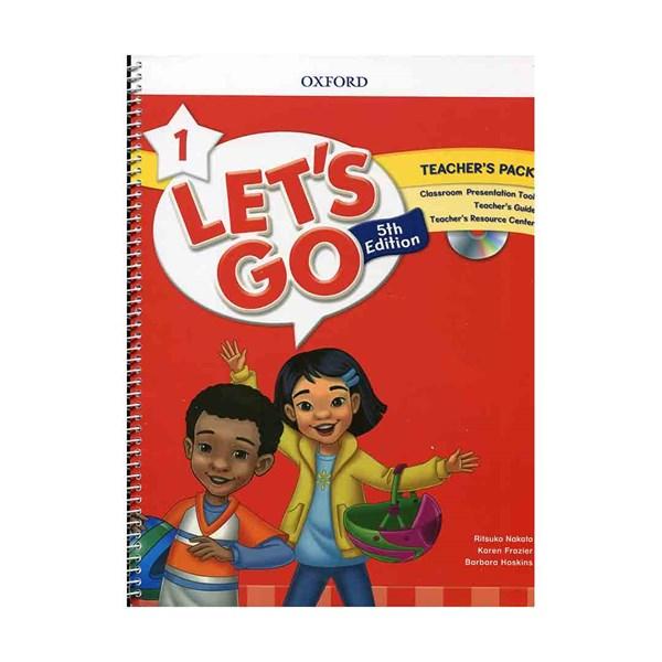 تصویر Teachers Pack Lets Go 1 5th + DVD