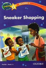 Lets Go 6 Readers 3 - Sneaker Shopping
