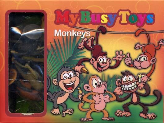 بسته-12تايي-ميمونها-(My-Busy-Toys)