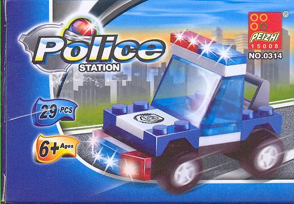لگو-ماشين--پليس29-قطعه-POLICE