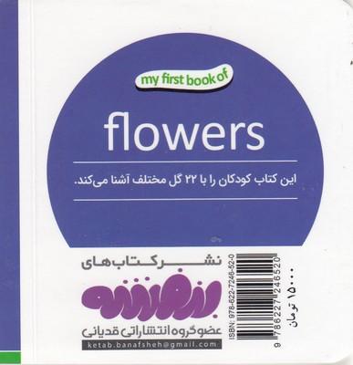 تصویر اولين كتاب من-گل ها