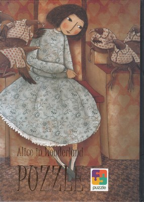 تصویر پازل اورجينال-آليس در سرزمين عجايب-Alice
