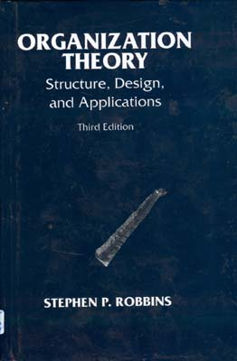 Organization Theory,structures design and applications (p.robbins)i صفار افست