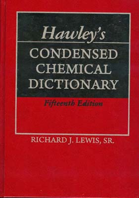 Condened chemical dictionary (richard) edition 5 نوپردازان