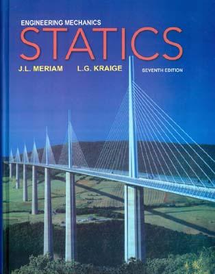 Engineering Mechanics Statics (Meriam)edition7صفار افست